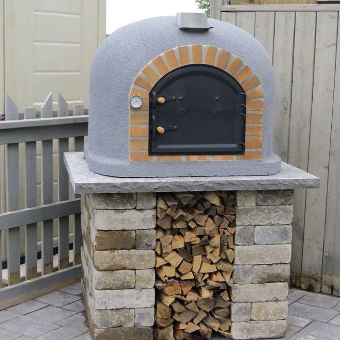 four bois pour pain et pizza fumus barbecue en pierre. Black Bedroom Furniture Sets. Home Design Ideas