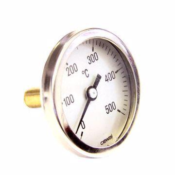 Thermomètre de porte pour four à bois