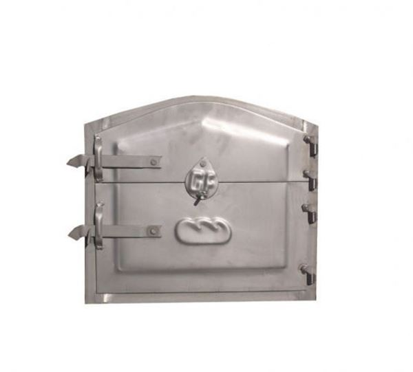 Porte en INOX pour four traditionnel