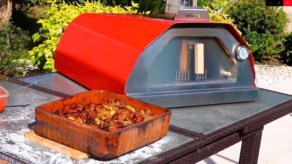 Four à pizza au feu de bois Brasa