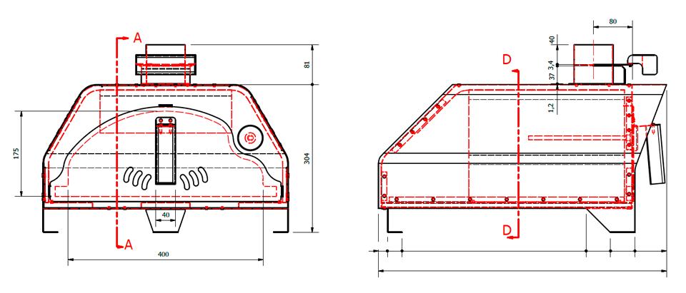 four pizza portable fiesta barbecue en pierre fours bois et barbecue en brique. Black Bedroom Furniture Sets. Home Design Ideas